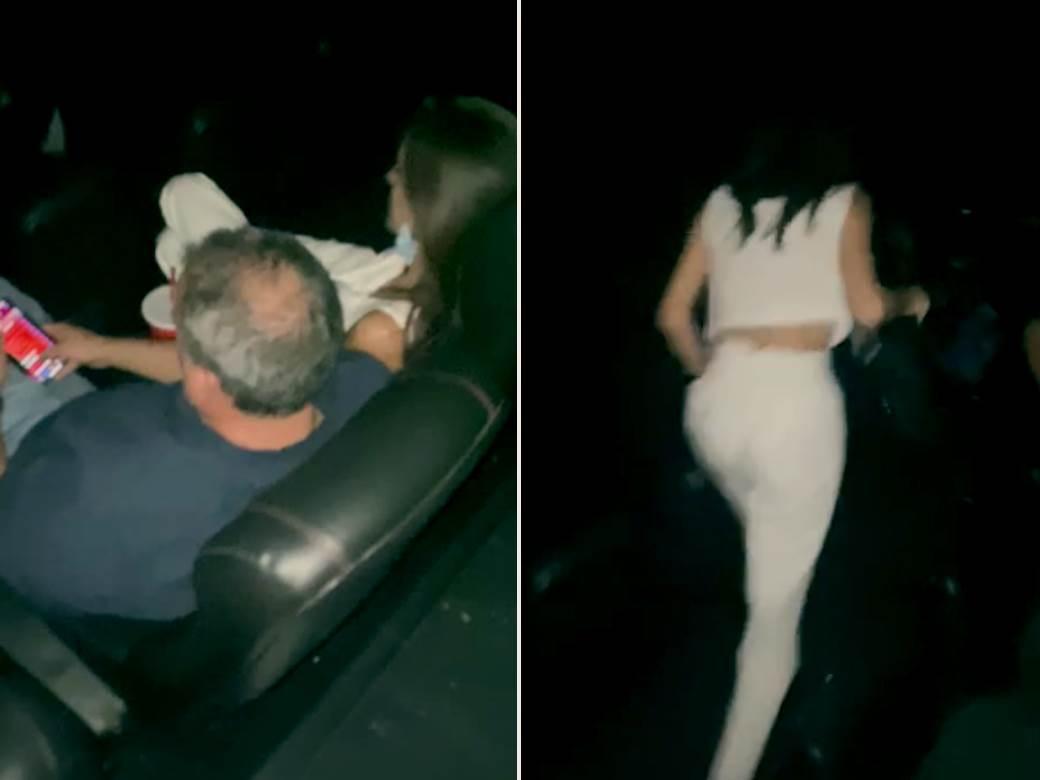 Žena ga uhvatila u bioskopu sa ljubavnicom