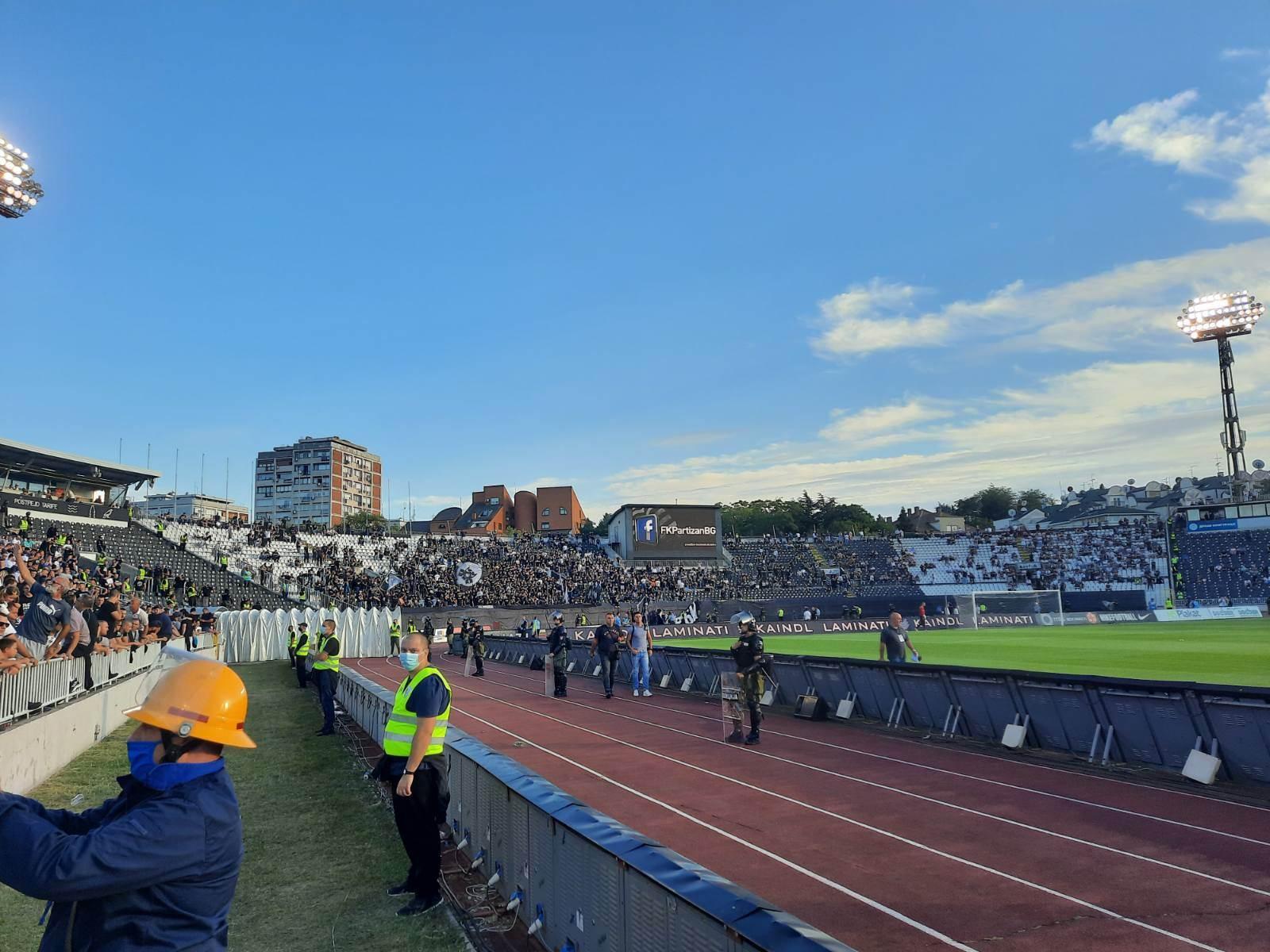 navijači Partizana