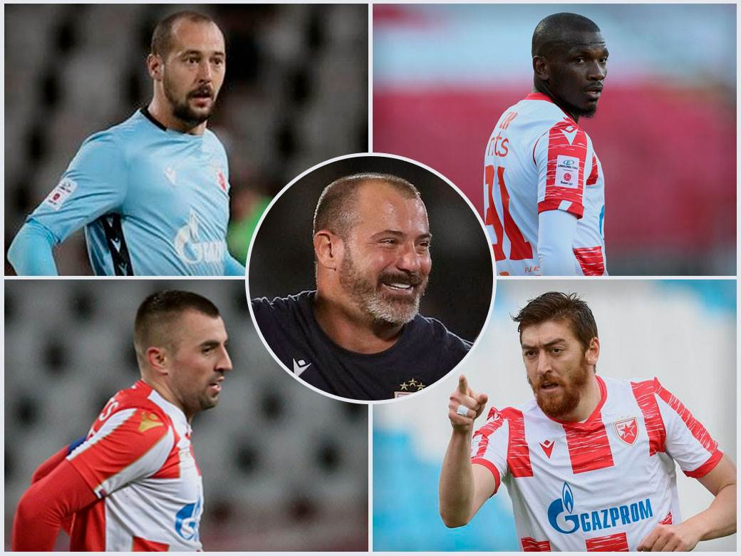 Dejan Stanković Milan Borjan, Ben, Milan Pavkov i Nenad Krstičić
