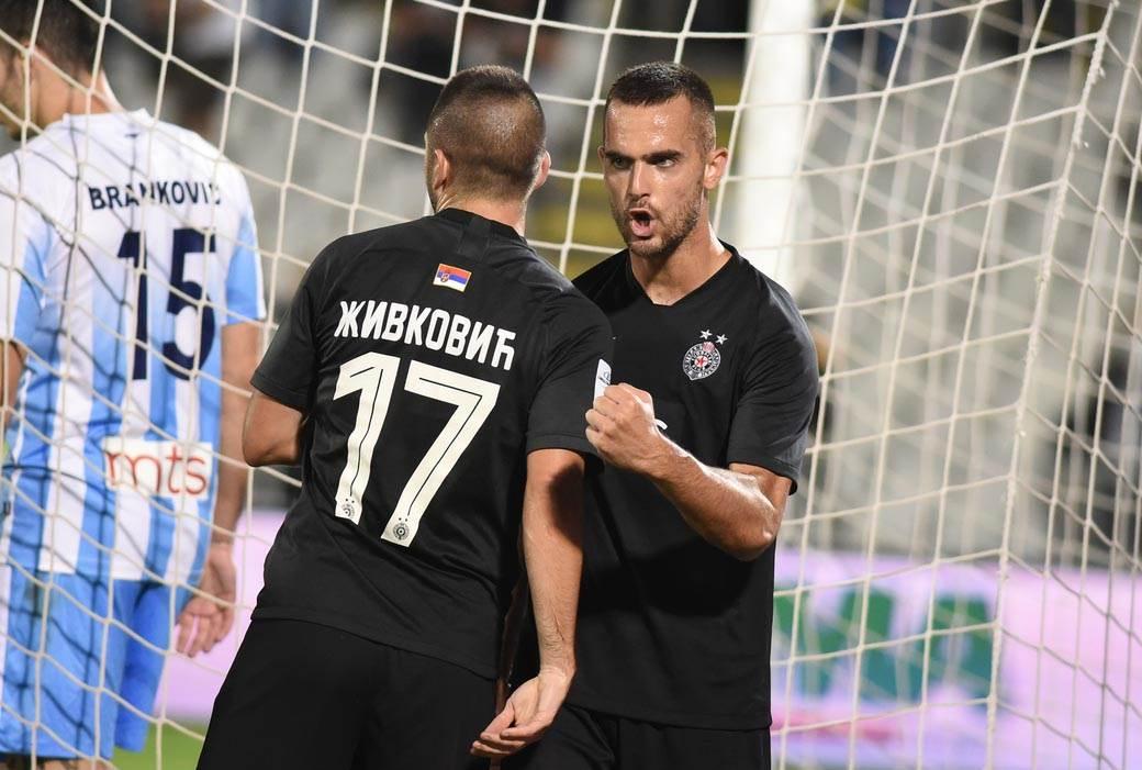 Partizan, Spartak (8)