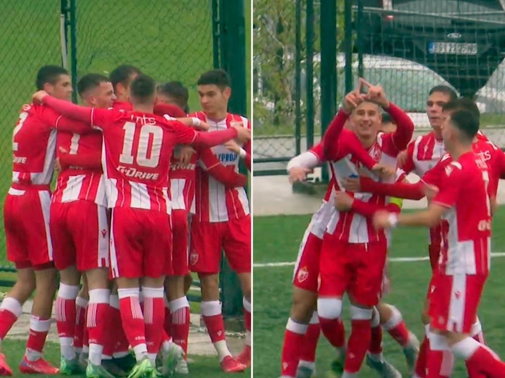 Kadetska-liga-Srbije,-Crvena-Zvezda,-Partizan