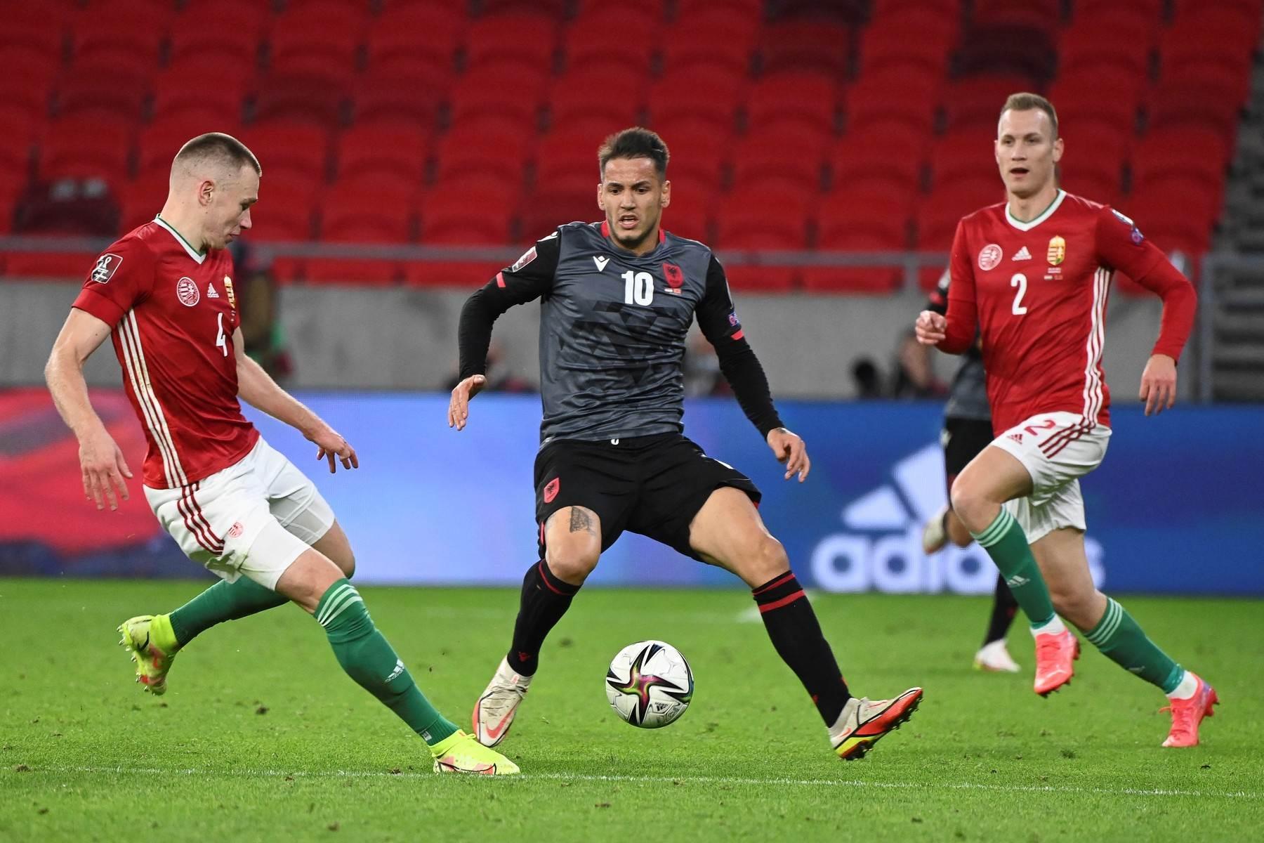 Albanija Mađarska