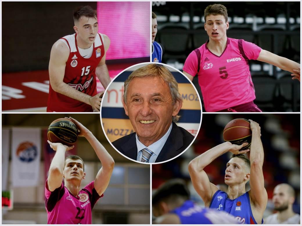 Marko Pecarski, Boriša Simanić, Aleksa Radanov, Nikola Jović, Svetislav Pešić