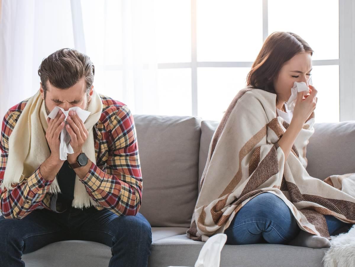 par koji ima grip
