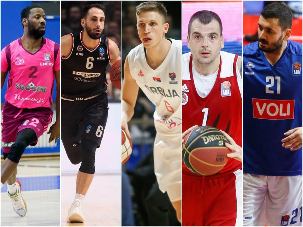 Skuči Smit, Rok Stipčević, Aleksa Radanov, Sava Lešić i Marko Jagodić Kuridža