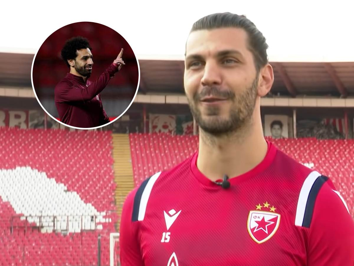Aleksandar Dragović i Mohamed Salah