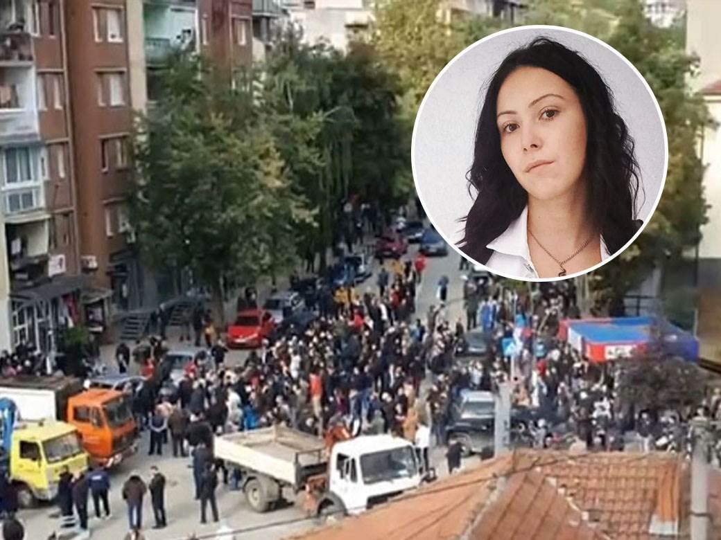 Kosovo neredi devojka