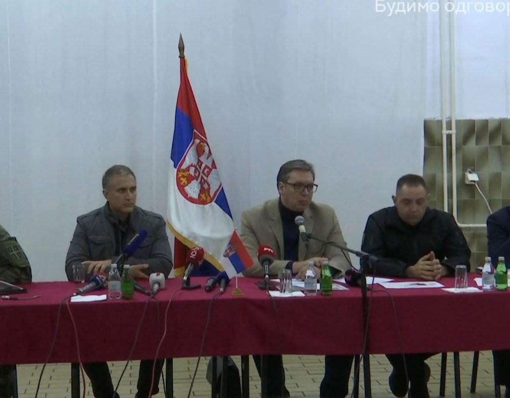 aleksandar vucic kosovo vulin stefanovic