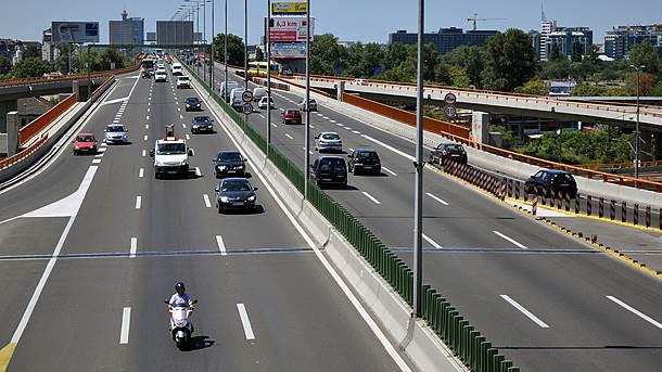 Most Gazela, Mostarska petlja, auto put