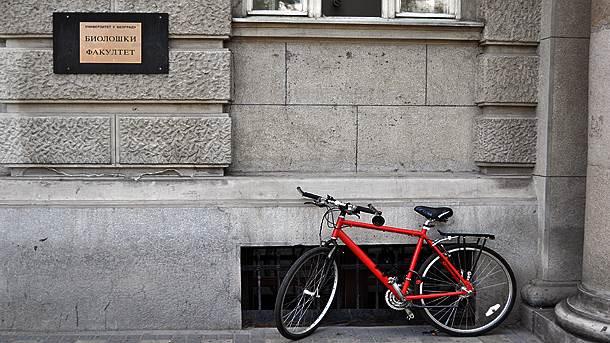 Biološki fakultet, bicikl,