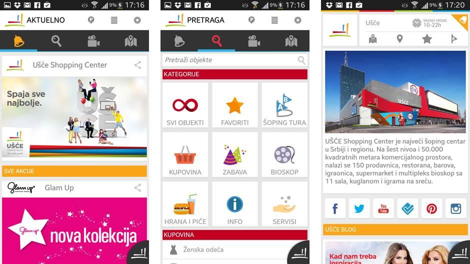 Trzni Centar Usce Aplikacija Mondo Portal
