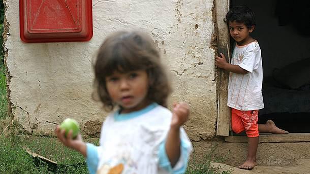 siromašna deca, sirotinja, cigani, romi