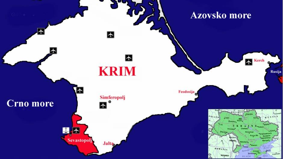 krim mapa Rusi poslali oklopna vozila na granicu s Ukrajinom | Mondo Portal krim mapa