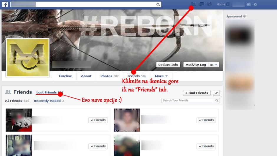 Saznaj ko te skinuo sa liste Facebook prijatelja!