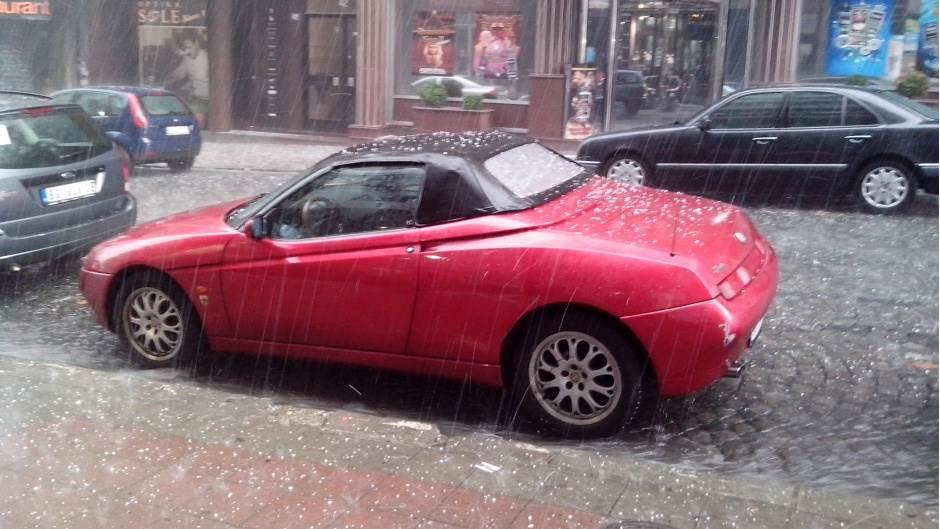 Vanredna situacija u Kragujevcu zbog nevremena