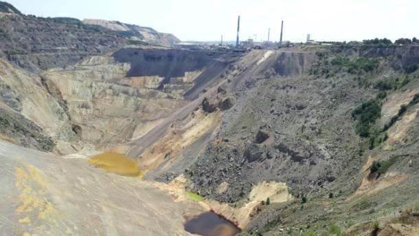 Površinski kop u Boru.