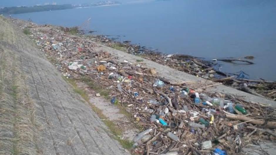 smeće đubre dunav reke zagađenje ekologija