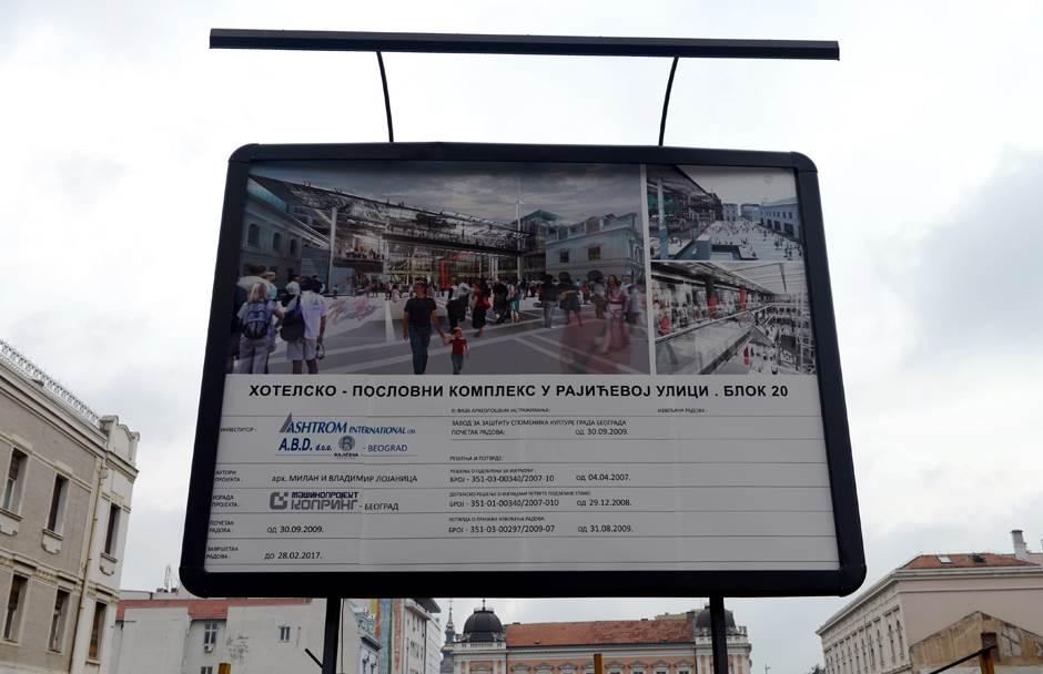 Evo šta kaže arhitekta o TC Rajićeva (FOTO)