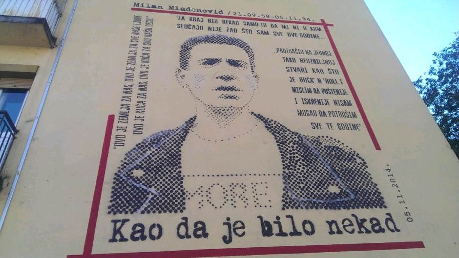 U čast Milanu Mladenoviću - nedelja, 8. novembar
