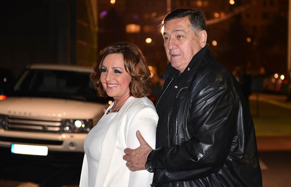 Pevačica Ana Bekuta i Milutin Mrkonjić