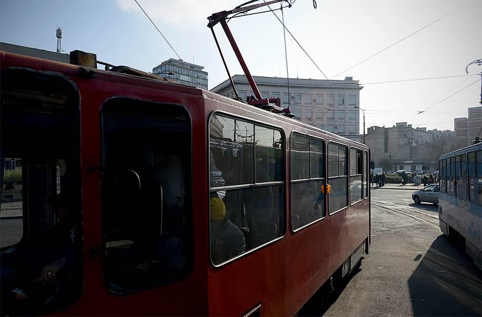 tramvaj, gradski prevoz, gsp, slavija