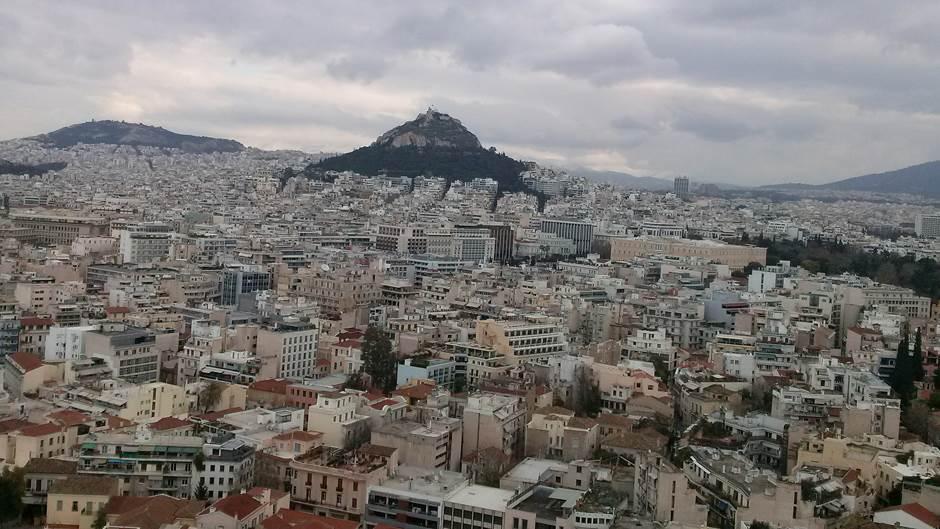 Atina, panorama Atine, Grčka