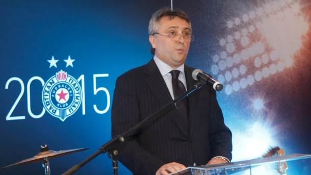 """Predsednik Partizana Zoran Popović o kreditu, hipoteci na """"Zemunelo"""" i prodaji Škuletića"""