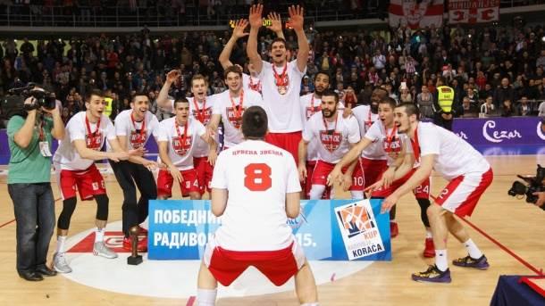 Crvena zvezda Telekom treću godinu zaredom osvajač Kupa Radivoja Koraća