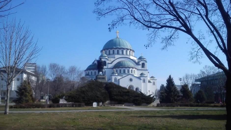 hram svetog save karađorđev park slavija