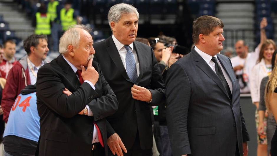 Čelnici ABA lige Josip Bilić Radovan Lorbek Roman Lisac