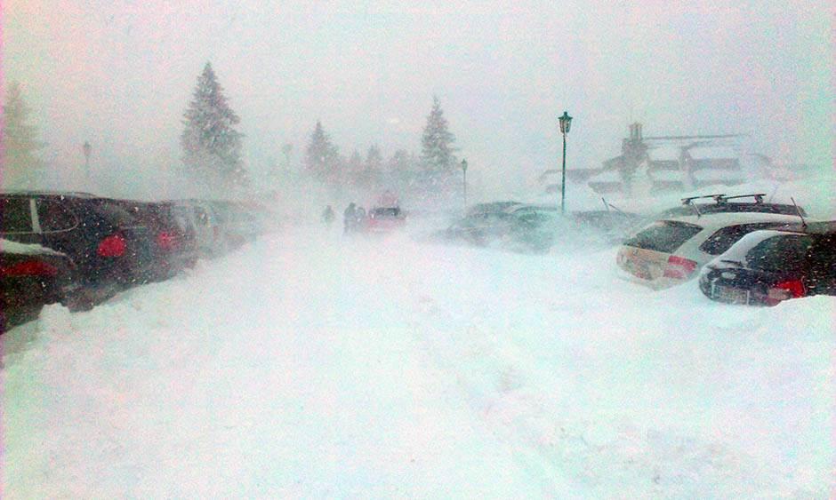 kopaonik, sneg, mećava