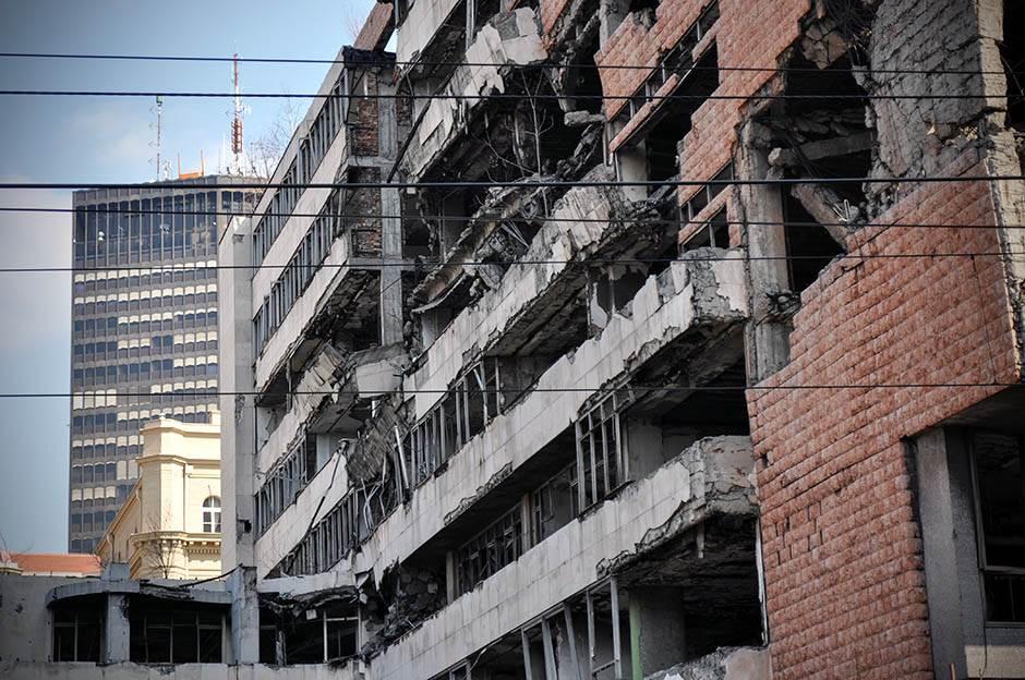 generalštab, zgrada, bombardovanje, nato