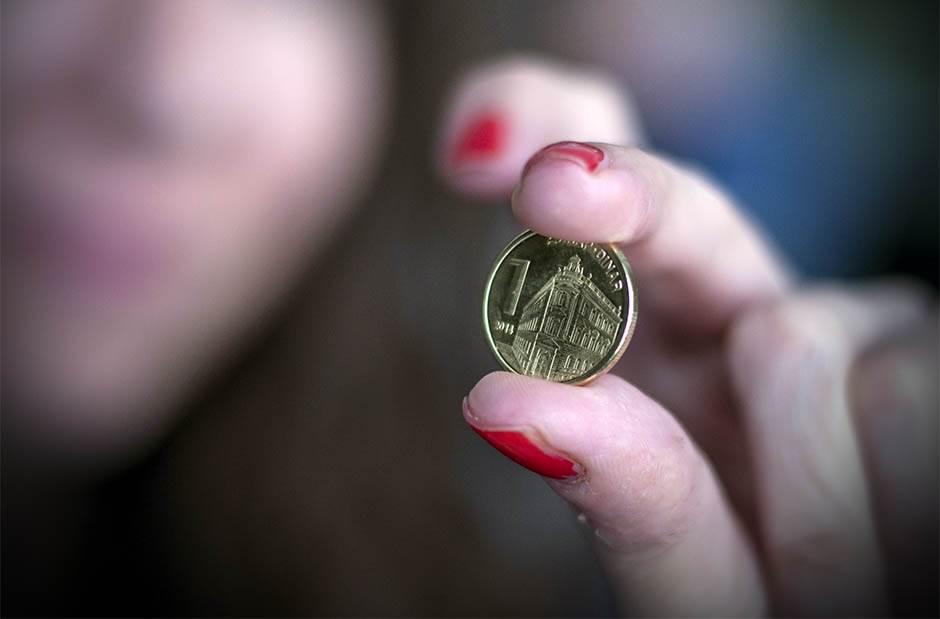 dinar, novac, jedan