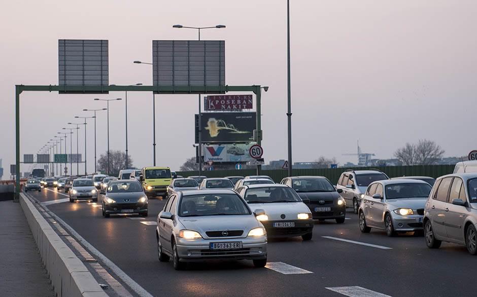 gužva, saobraćaj, autoput, gazela