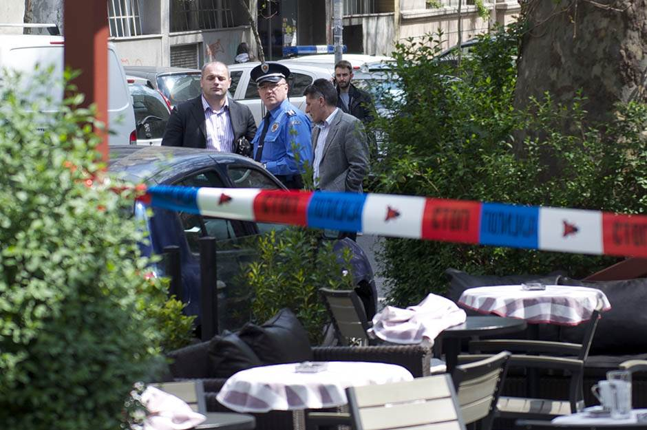 policija, kafić, mesto zločina