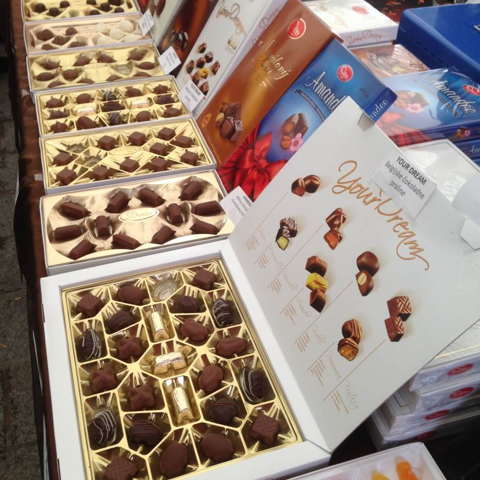 praline, čokolada, slatkiši