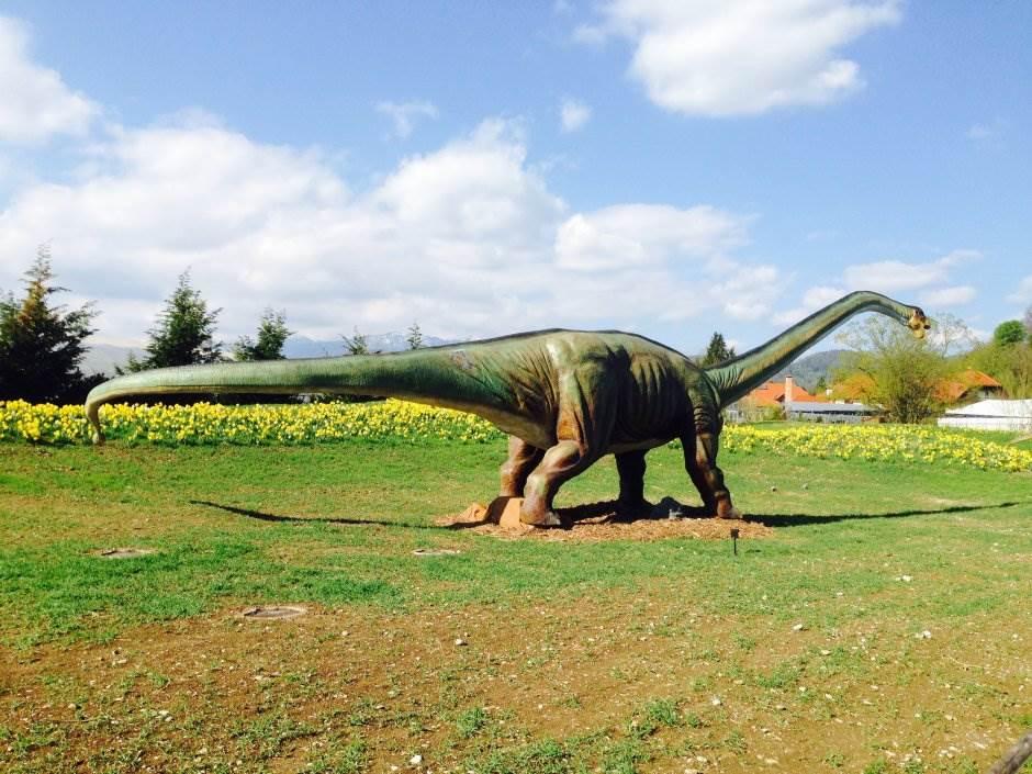 park, dinosaurus