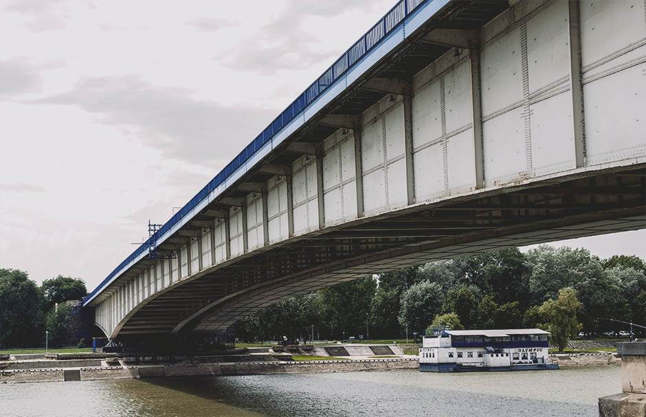 brankov most, mostovi, reka, most,