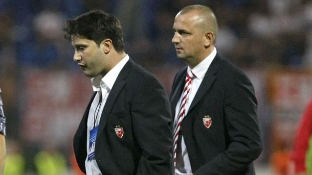 Ivan Adžić, Vladan Lukić, FK Crvena zvezda