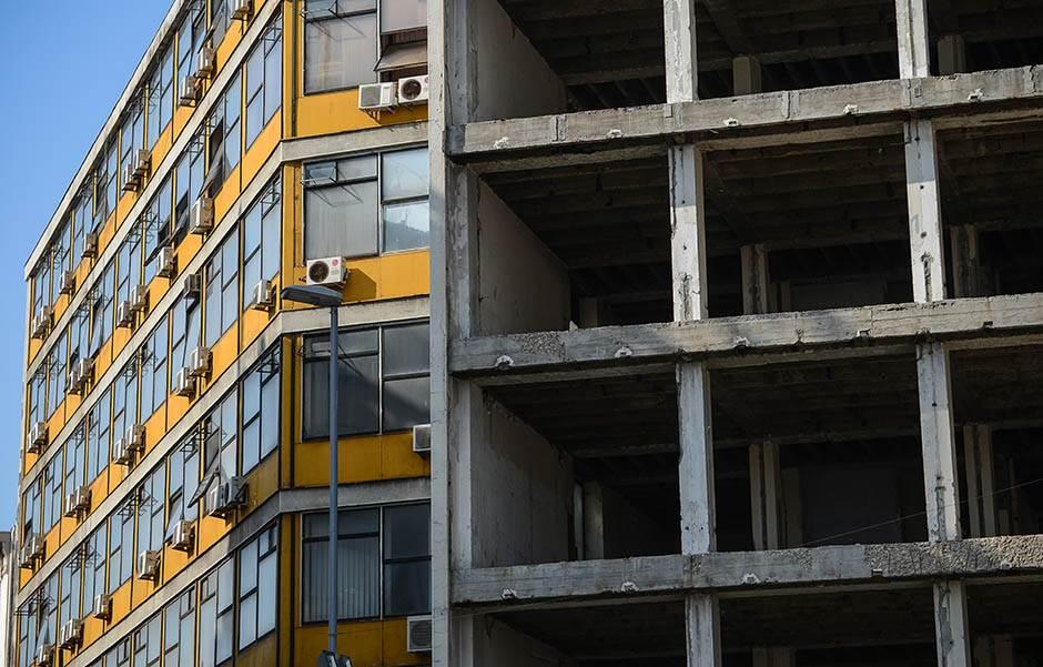 ATRAKCIJA! Zgrada Beobanke imaće zelenu fasadu