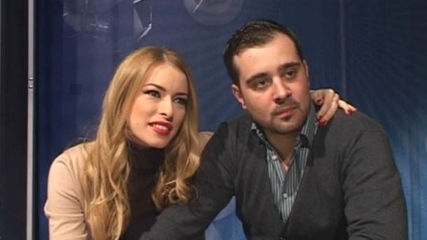 Danijela Buzurović, Prva TV, Stefan Buzurović, voditelji