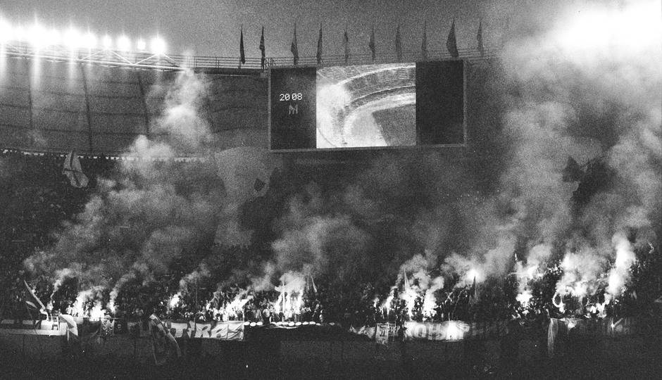 delije bari jug sveti nikola navijanje 1991 kup šampiona zvezda olimpik marsej 3.jpg