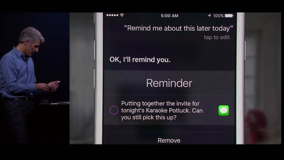 Apple Siri, Apple, Siri
