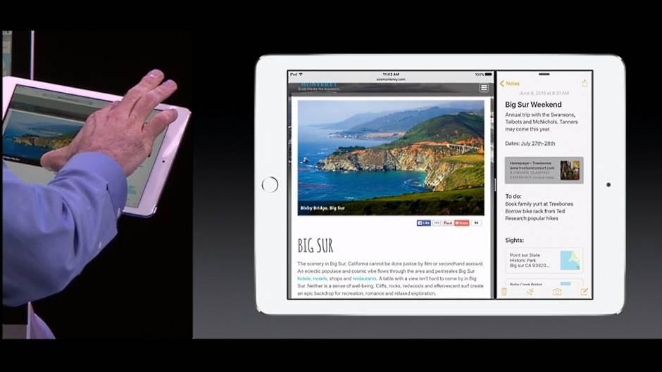 Apple Multi Window iPad, Apple, iPad, Multi WIndow, Tablet