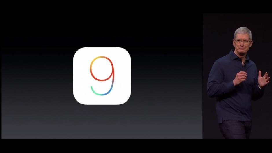Apple iOS 9, iOS, iOS 9, Apple, iPhone, iPad