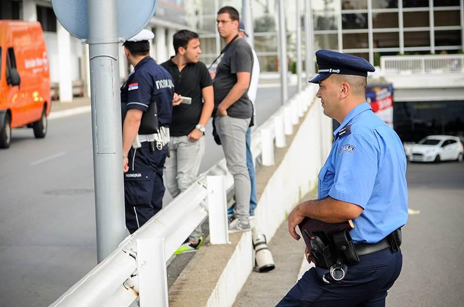 policija, aerodrom