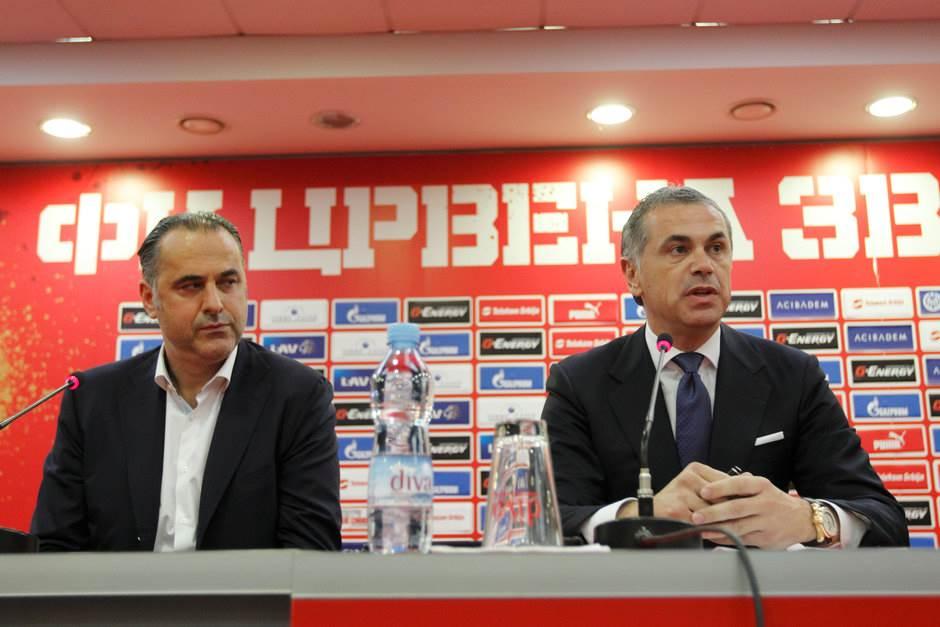 Miodrag Božović, Zvezdan Terzić, FK Crvena zvezda