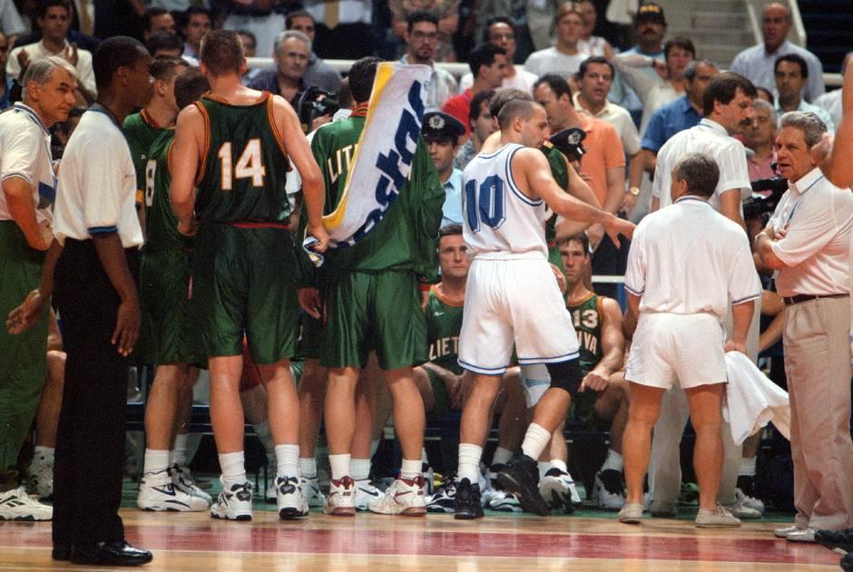 jugoslavija litvanija 1995 atina evropsko prvenstvo