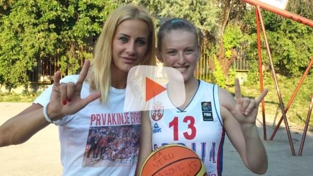 Milica Dabović, košarka, reprezentacija Srbije, košarkašice, gluvonemi