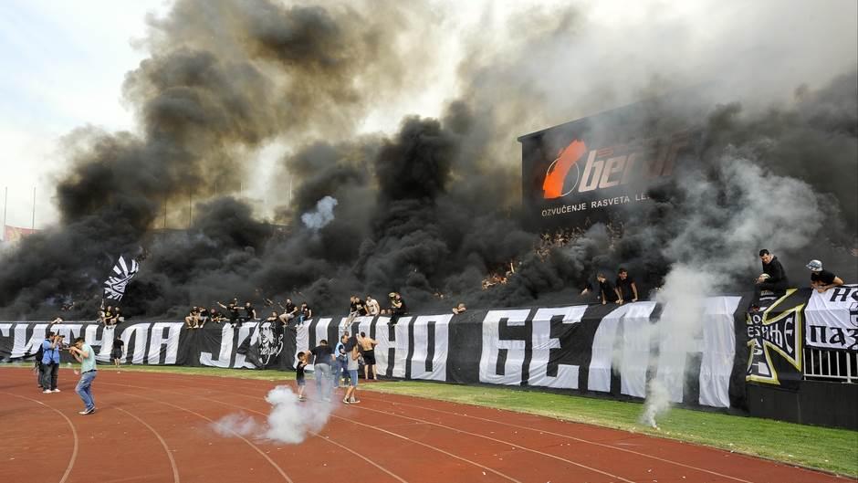 Partizan protiv Mladosti sa Grobarima!